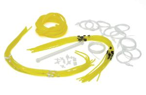 Tubing kit for low volatile organic solvents