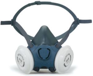 Semimaschere contro gas, vapori e polveri, serie 7000