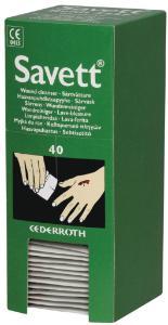 Salviette detergenti sterili per ferite