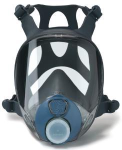Maschere a pieno facciale contro gas, vapori e polveri; serie 9000